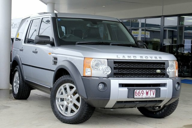 Used Land Rover Discovery 3 HSE, Bowen Hills, 2007 Land Rover Discovery 3 HSE Wagon