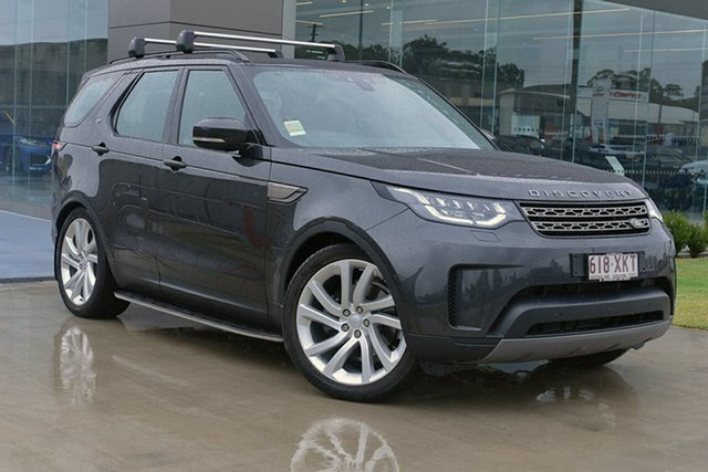 Demonstrator, Demo, Near New Land Rover Discovery TD6 SE, Springwood, 2017 Land Rover Discovery TD6 SE Wagon