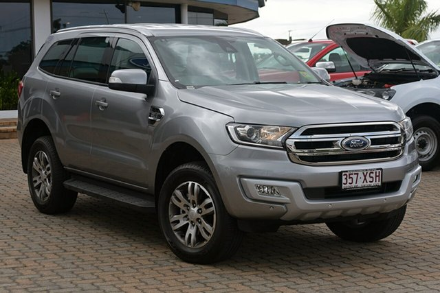 Discounted Demonstrator, Demo, Near New Ford Everest Trend 4WD, Southport, 2017 Ford Everest Trend 4WD SUV