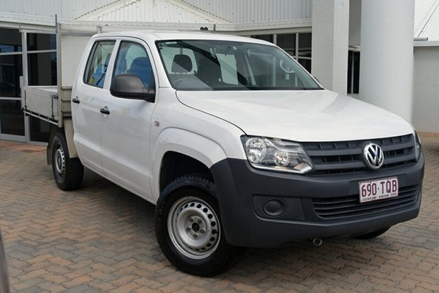 Discounted Used Volkswagen Amarok TDI420 4Motion Perm, Southport, 2014 Volkswagen Amarok TDI420 4Motion Perm Cab Chassis