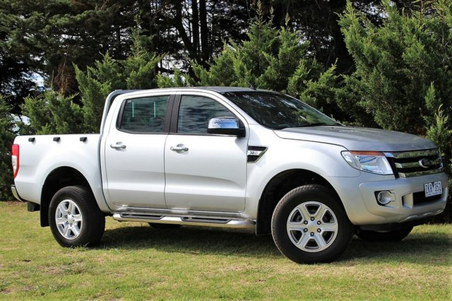 Used Ford Ranger XLT Double Cab 4x2 Hi-Rider, Officer, 2012 Ford Ranger XLT Double Cab 4x2 Hi-Rider Utility