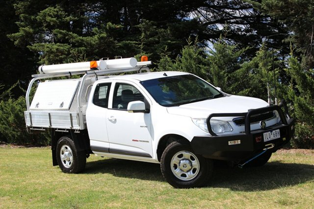 Used Holden Colorado LX Space Cab, Officer, 2012 Holden Colorado LX Space Cab Cab Chassis