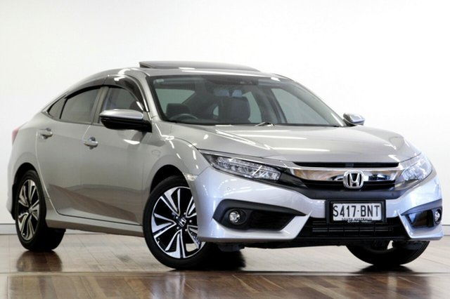 Used Honda Civic VTI-LX, Adelaide, 2016 Honda Civic VTI-LX Sedan