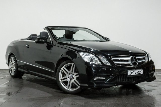 Used Mercedes-Benz E350 BlueEFFICIENCY 7G-Tronic + Avantgarde, Rozelle, 2011 Mercedes-Benz E350 BlueEFFICIENCY 7G-Tronic + Avantgarde Cabriolet