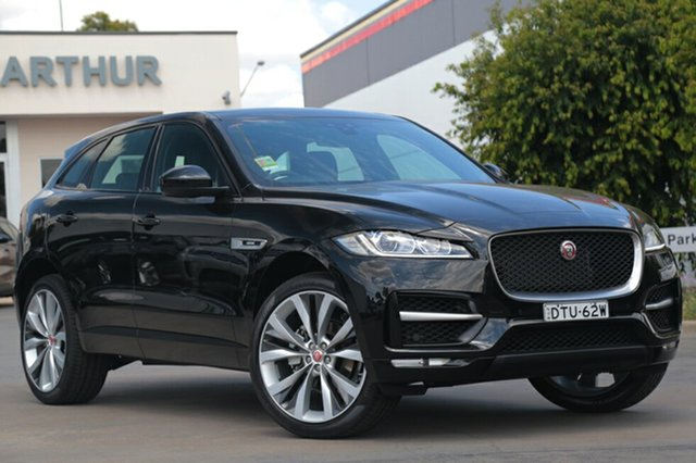 Demonstrator, Demo, Near New Jaguar F-PACE 25d AWD R-Sport, Campbelltown, 2017 Jaguar F-PACE 25d AWD R-Sport SUV