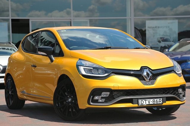 Discounted Demonstrator, Demo, Near New Renault Clio R.S. 200 EDC Cup, Warwick Farm, 2017 Renault Clio R.S. 200 EDC Cup Hatchback