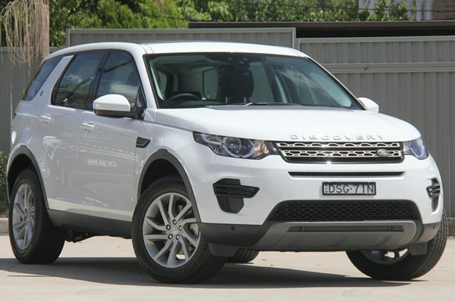 Demonstrator, Demo, Near New Land Rover Discovery Sport Si4 177kW SE, Blakehurst, 2017 Land Rover Discovery Sport Si4 177kW SE Wagon
