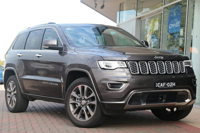 Discounted Demonstrator, Demo, Near New Jeep Grand Cherokee Overland, Southport, 2017 Jeep Grand Cherokee Overland SUV