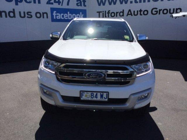 Used Ford Everest Titanium, Hobart, 2017 Ford Everest Titanium Wagon