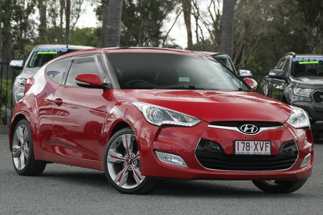 Used Hyundai Veloster + Coupe D-CT, Beaudesert, 2013 Hyundai Veloster + Coupe D-CT Hatchback