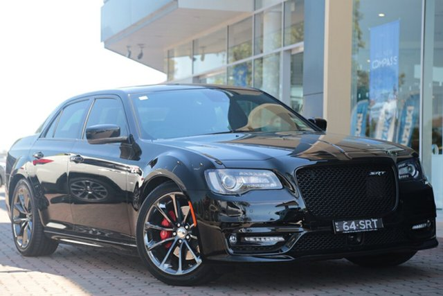 Discounted Demonstrator, Demo, Near New Chrysler 300 SRT Hyperblack, Southport, 2017 Chrysler 300 SRT Hyperblack Sedan
