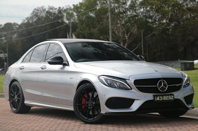 Discounted Used Mercedes-Benz C43 AMG 9G-TRONIC 4MATIC, Warwick Farm, 2016 Mercedes-Benz C43 AMG 9G-TRONIC 4MATIC Sedan