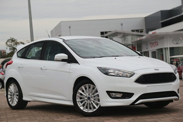 Discounted Demonstrator, Demo, Near New Ford Focus Sport, Warwick Farm, 2017 Ford Focus Sport Hatchback