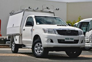 Used Toyota Hilux SR, Robina, 2013 Toyota Hilux SR KUN26R MY12 Cab Chassis