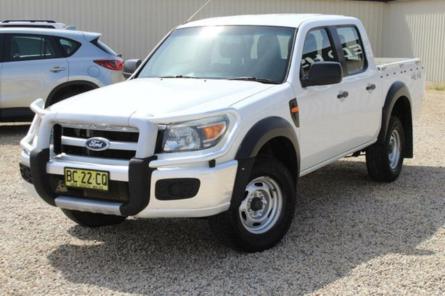 Used Ford Ranger XL (4x4), Bathurst, 2009 Ford Ranger XL (4x4) Dual Cab Pickup
