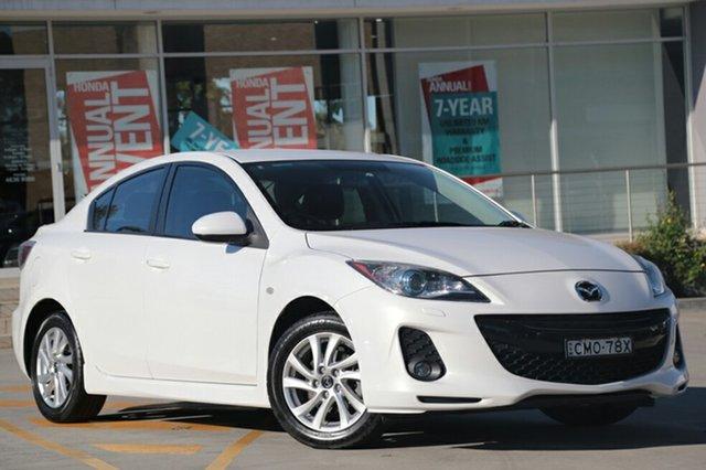 Used Mazda 3 SP20 SKYACTIV-Drive SKYACTIV, Narellan, 2012 Mazda 3 SP20 SKYACTIV-Drive SKYACTIV Sedan