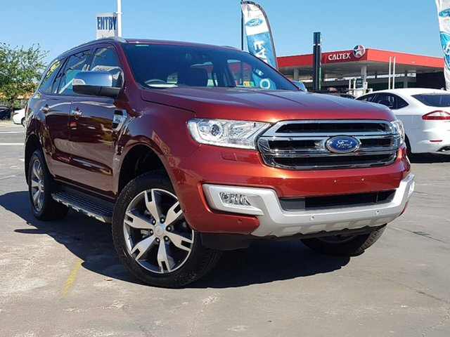 Used Ford Everest Titanium 4WD, Morley, 2017 Ford Everest Titanium 4WD Wagon