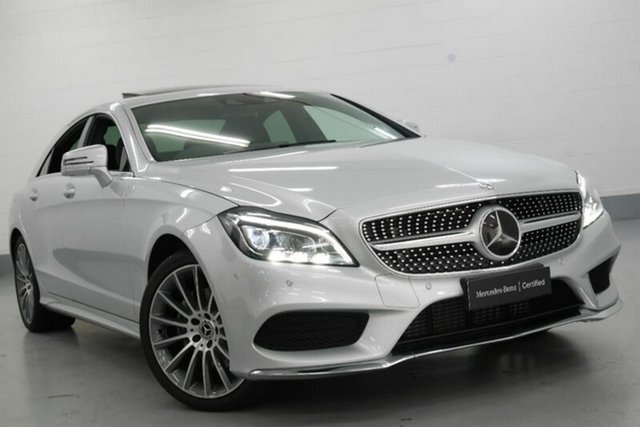 Demonstrator, Demo, Near New Mercedes-Benz CLS250D d Coupe 7G-Tronic +, Chatswood, 2017 Mercedes-Benz CLS250D d Coupe 7G-Tronic + Sedan