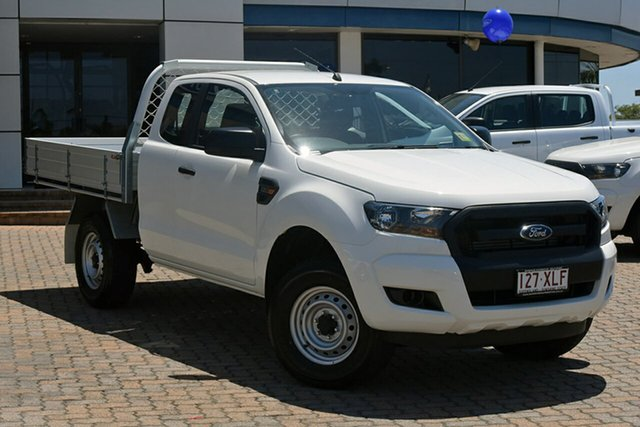 Discounted Demonstrator, Demo, Near New Ford Ranger XL Super Cab 4x2 Hi-Rider, Southport, 2017 Ford Ranger XL Super Cab 4x2 Hi-Rider Cab Chassis