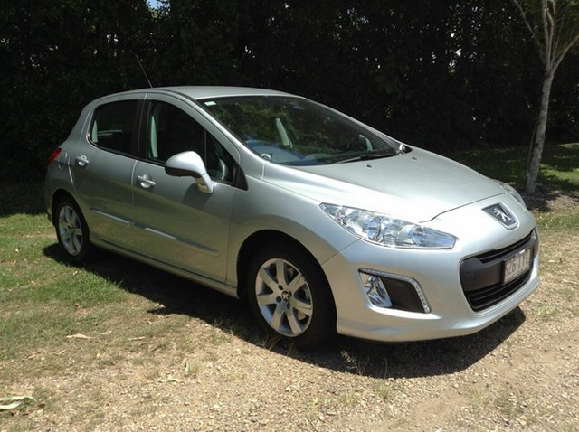 Used Peugeot 308 Style, Nambour, 2013 Peugeot 308 Style T7 MY13 Hatchback