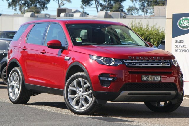 Demonstrator, Demo, Near New Land Rover Discovery Sport TD4 110kW HSE, Port Melbourne, 2017 Land Rover Discovery Sport TD4 110kW HSE Wagon
