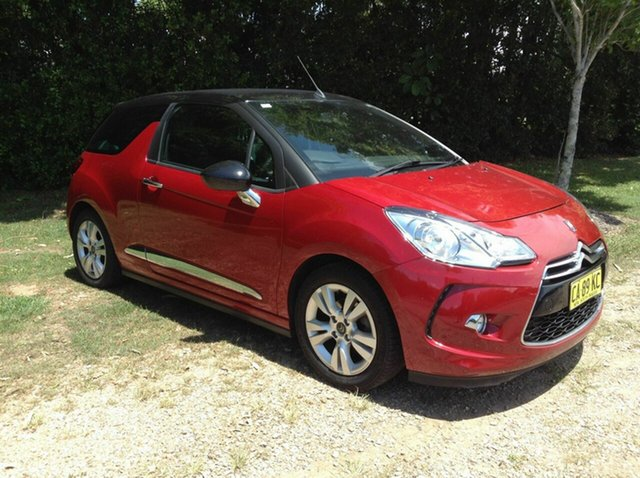 Used Citroen DS3 Dstyle, Nambour, 2013 Citroen DS3 Dstyle MY13 Cabriolet