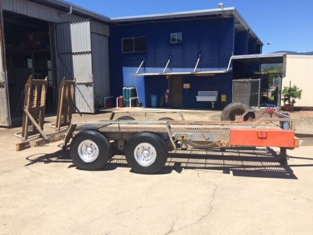Used Allyweld 10T, Cairns, 2007 Allyweld 10T Plant Trailer
