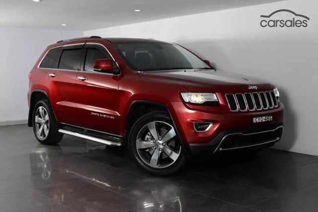Used Jeep Grand Cherokee Limited, Moorooka, Brisbane, 2015 Jeep Grand Cherokee Limited Wagon
