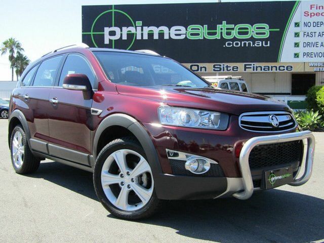 Discounted Used Holden Captiva 7 LX (4x4), Loganholme, 2011 Holden Captiva 7 LX (4x4) Wagon