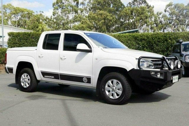 Discounted Used Volkswagen Amarok TDI420 4Motion Perm Trendline, Acacia Ridge, 2014 Volkswagen Amarok TDI420 4Motion Perm Trendline 2H MY14 Utility