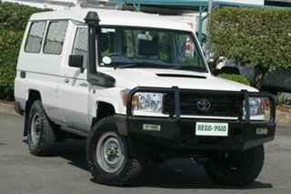 Used Toyota Landcruiser Workmate Troopcarrier, Acacia Ridge, 2015 Toyota Landcruiser Workmate Troopcarrier VDJ78R Wagon