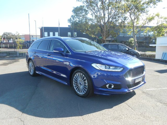 Used Ford Mondeo Titanium PwrShift, Nowra, 2015 Ford Mondeo Titanium PwrShift Wagon