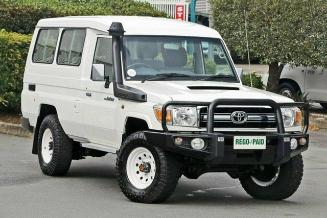 Discounted Used Toyota Landcruiser GXL Troopcarrier, Acacia Ridge, 2014 Toyota Landcruiser GXL Troopcarrier VDJ78R Wagon