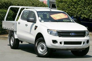 Used Ford Ranger XL Double Cab 4x2 Hi-Rider, Acacia Ridge, 2015 Ford Ranger XL Double Cab 4x2 Hi-Rider PX Cab Chassis