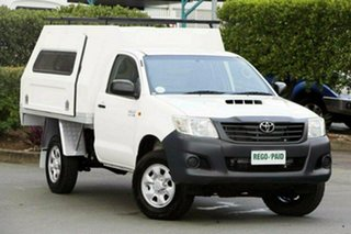 Used Toyota Hilux Workmate, Acacia Ridge, 2011 Toyota Hilux Workmate KUN26R MY12 Cab Chassis
