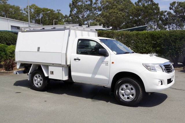 Used Toyota Hilux SR, Acacia Ridge, 2013 Toyota Hilux SR KUN26R MY12 Cab Chassis