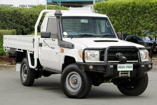 Used Toyota Landcruiser Workmate, Acacia Ridge, 2014 Toyota Landcruiser Workmate VDJ79R Cab Chassis