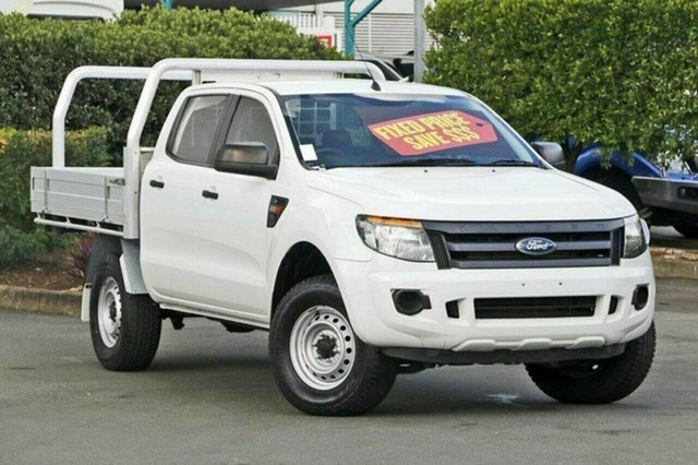 Used Ford Ranger XL Double Cab 4x2 Hi-Rider, Acacia Ridge, 2014 Ford Ranger XL Double Cab 4x2 Hi-Rider PX Cab Chassis