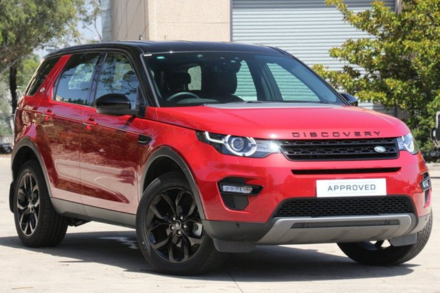 Discounted Demonstrator, Demo, Near New Land Rover Discovery Sport TD4 180 HSE 5 Seat, Concord, 2017 Land Rover Discovery Sport TD4 180 HSE 5 Seat Wagon