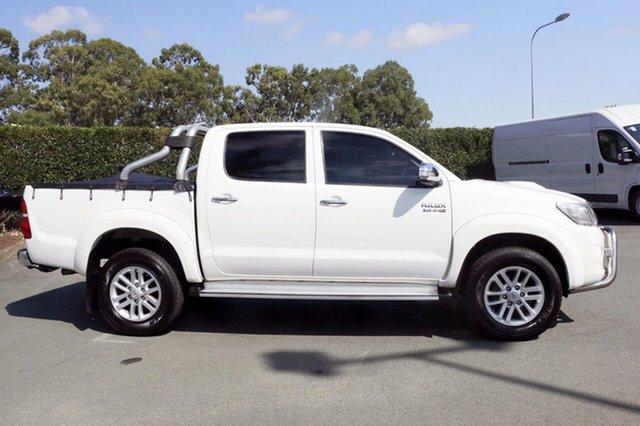 Used Toyota Hilux SR5 Double Cab, Acacia Ridge, 2014 Toyota Hilux SR5 Double Cab KUN26R MY14 Utility