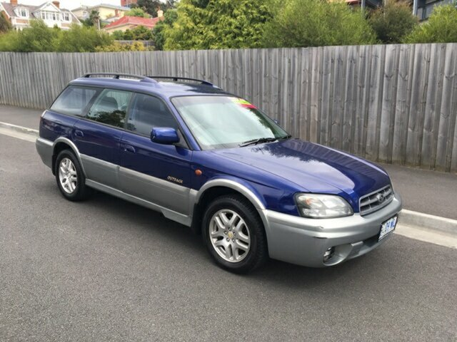Used Subaru Outback, North Hobart, 2002 Subaru Outback Wagon