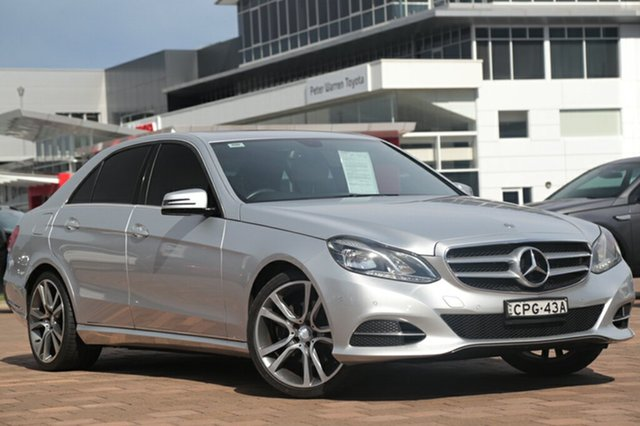 Used Mercedes-Benz E200 7G-Tronic +, Warwick Farm, 2013 Mercedes-Benz E200 7G-Tronic + Sedan