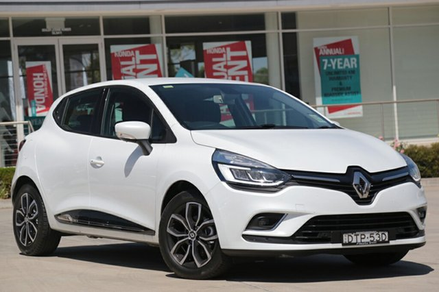 Discounted Demonstrator, Demo, Near New Renault Clio Zen EDC, Narellan, 2017 Renault Clio Zen EDC Hatchback
