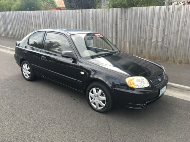 Used Hyundai Accent GL, North Hobart, 2003 Hyundai Accent GL Hatchback