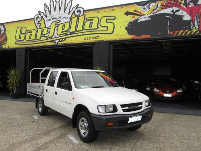 Used Holden Rodeo, O'Connor, 1999 Holden Rodeo Dual Cab