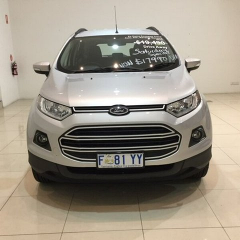 Demonstrator, Demo, Near New Ford Ecosport Trend PwrShift, Hobart, 2017 Ford Ecosport Trend PwrShift Wagon