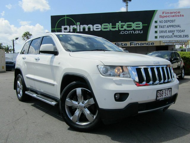 Used Jeep Grand Cherokee Limited (4x4), Loganholme, 2011 Jeep Grand Cherokee Limited (4x4) Wagon