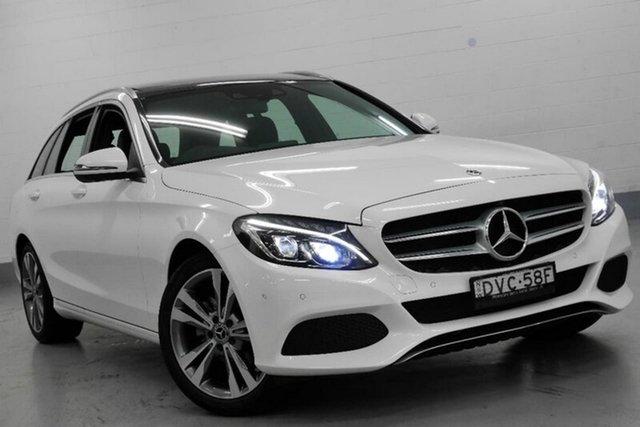 Demonstrator, Demo, Near New Mercedes-Benz C200 d Estate 7G-Tronic +, Chatswood, 2017 Mercedes-Benz C200 d Estate 7G-Tronic + Wagon