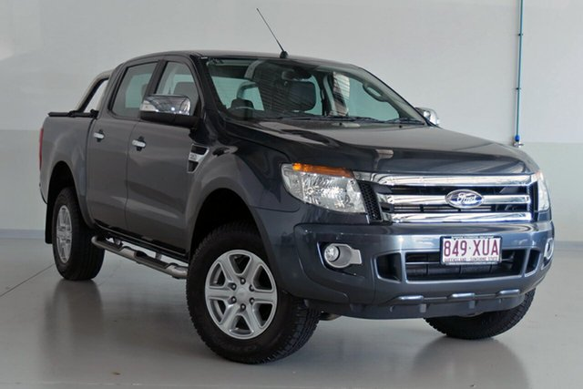 Used Ford Ranger XLT Double Cab 4x2 Hi-Rider, Southport, 2014 Ford Ranger XLT Double Cab 4x2 Hi-Rider Utility