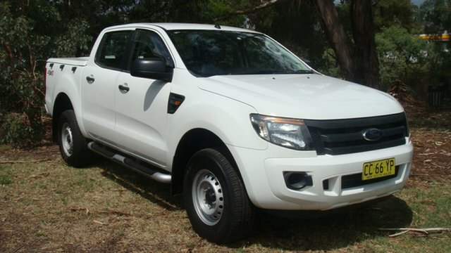 Used Ford Ranger XL Double Cab, Queanbeyan, 2013 Ford Ranger XL Double Cab Utility